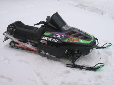 Arctic Cat Z Skis