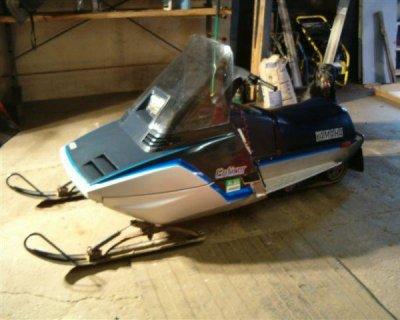 1984 yamaha enticer 300 antigo wisconsin for Used yamaha snowmobiles for sale in wisconsin
