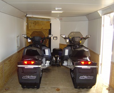 Please Search For A Trailer Dealer Or Specifically An Snowmobile In Your State By Aluma Ae8620 4 Place Enclosed Deck