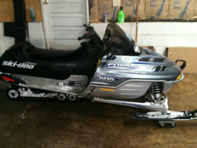 2001 ski doo formula deluxe 500 cc snowmobile for sale for Cottage grove yamaha