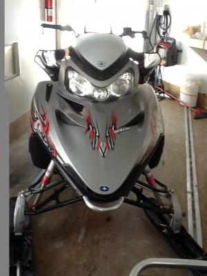 Picture of 2010 Polaris Dragon RMK 800