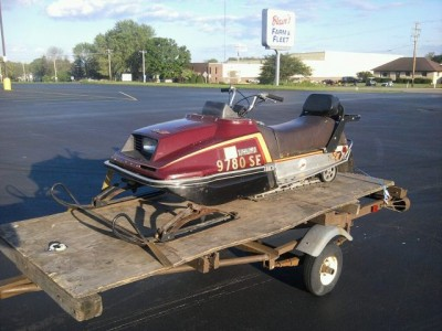 1981 Yamaha Enticer 340 cc snowmobile for sale, watertown