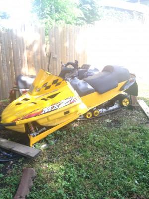 Picture of 1998 Ski-Doo MXZ 500