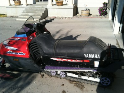 Picture of 1997 Yamaha Mountain Max 600
