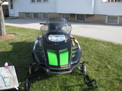 Picture of 1998 Arctic Cat ZL 500