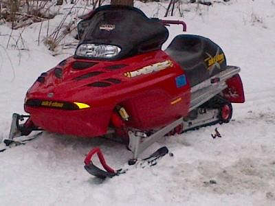 Picture of 2001 Ski-Doo MXZ X 800