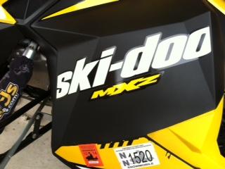 Picture of 2012 Ski-Doo MXZ 600