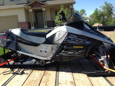 2007 Arctic Cat F1000 1000 Cc Snowmobile For Sale Cheyenne Wyoming