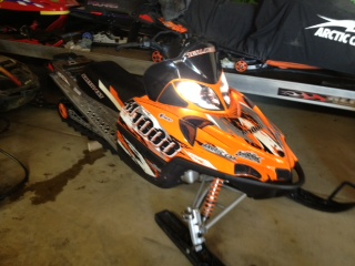 2008 Arctic Cat M1000 1000 Cc Snowmobile For Sale Westfield Iowa 51062
