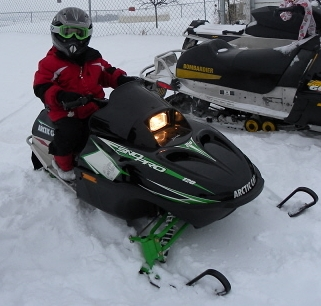 Picture of 2009 Arctic Cat Sno Pro 120