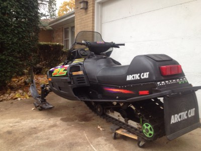 Picture of 1998 Arctic Cat ZL 440