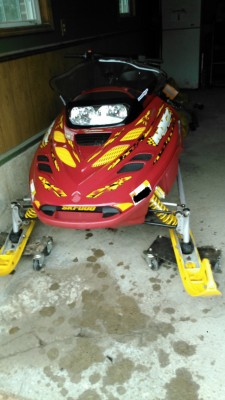 Picture of 2001 Ski-Doo MXZ X 800
