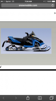 Picture of 2007 Polaris Dragon SP 900
