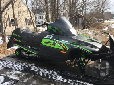 Picture of 2000 Arctic Cat ZL 600