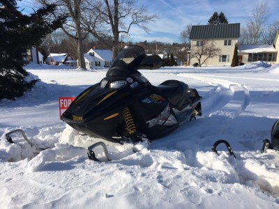 Picture of 2005 Ski-Doo MXZ Fan 550